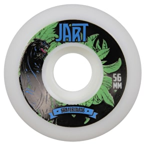 Jart Bondi 83b Skateboard Wheels - Black Panther 56mm