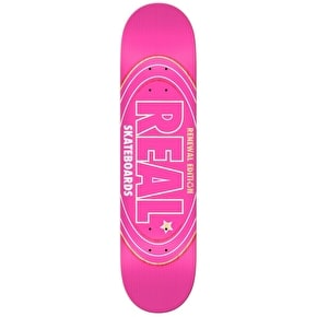 Real Renewal Oval PP Skateboard Deck - Pink - 8.5