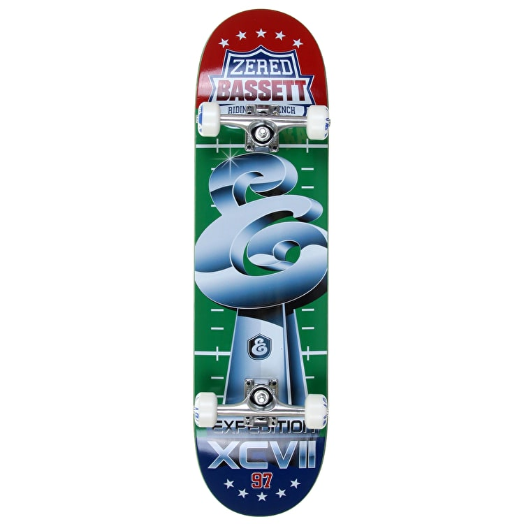 """Expedition One Bench Trophy Zered Custom Skateboard 8.38"""""""