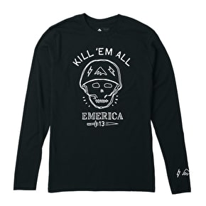 Emerica Kill Em All Longsleeve T-Shirt - Black