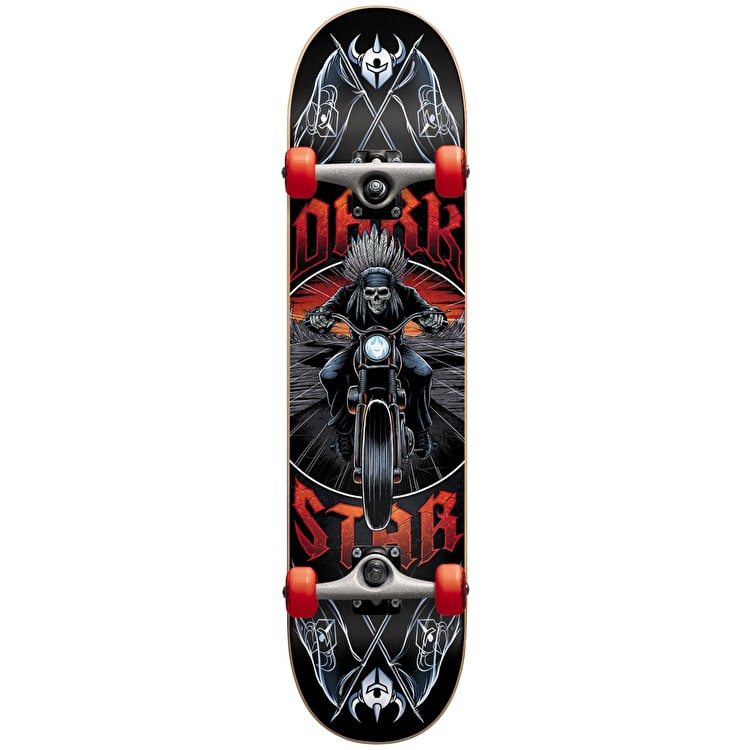 Darkstar Roadie Complete Skateboard - Red 8""