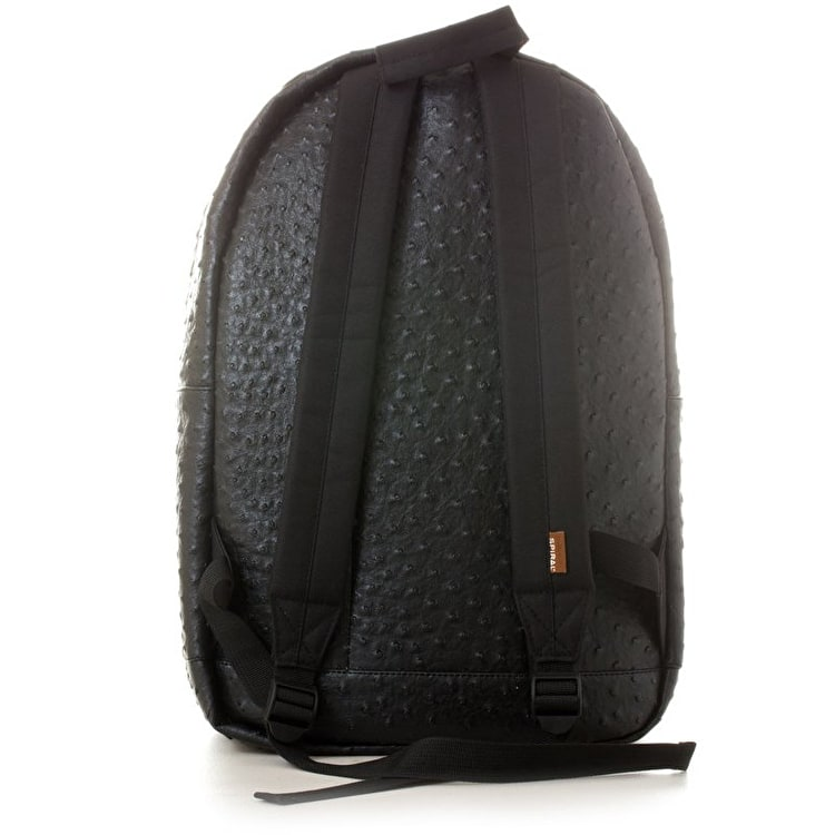Spiral OG Platinum Backpack - Ostrich Black