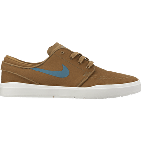 Nike SB Stefan Janoski Hyperfeel Skate Shoes - Golden Beige/Sequoia