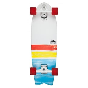 D-Street Surfskate Cut Back Complete Cruiser - Multi 31