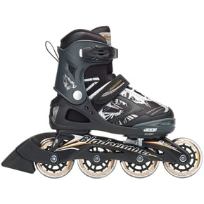 Bladerunner 2018 Phaser Flash Adjustable Inline Skates - Black/Orange