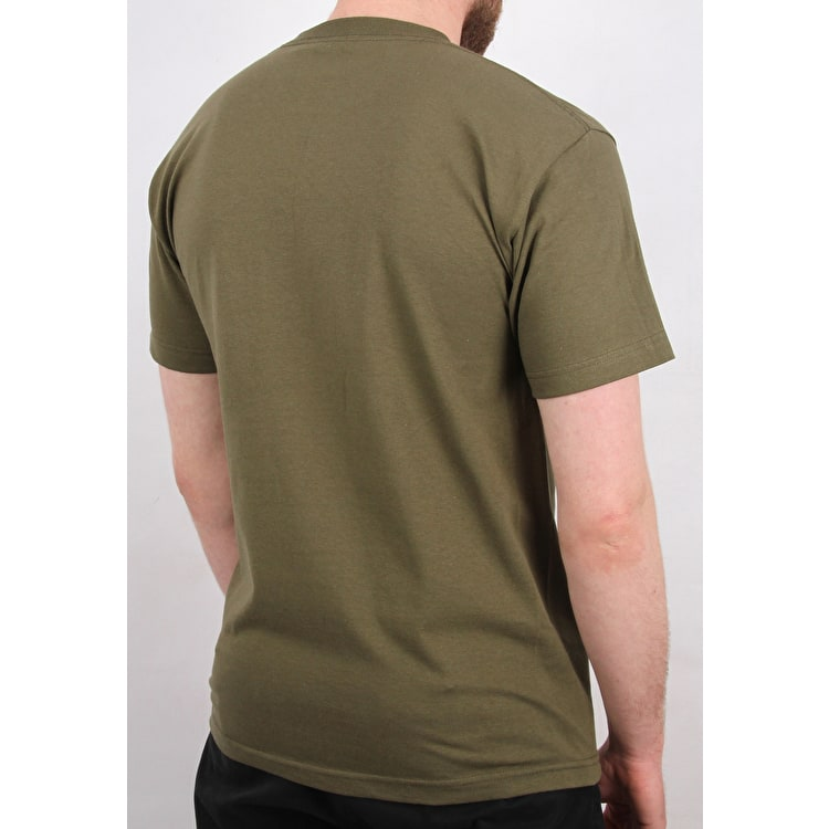 Chrystie OG Logo T shirt - Military Green
