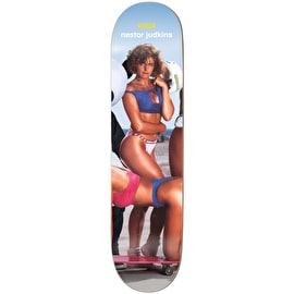 Enjoi Slick Chicks Slick Bottom Skateboard Deck - Nestor Judkins 8.125
