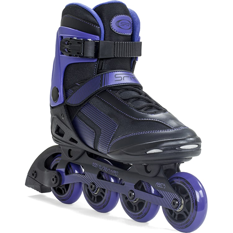 SFR Air X-Pro 80 Inline Skates - Black/Purple