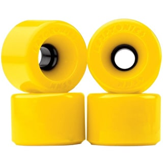 Kryptonic Star Trac Skateboard Wheels 60mm - Yellow