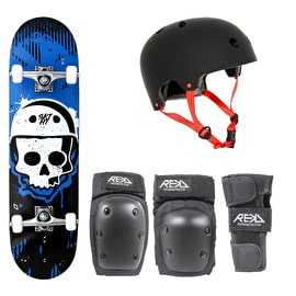 SKTHT Skull Hut Beginner Skateboard Bundle