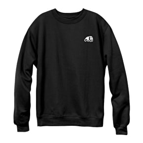 Enjoi Panda Patch Crewneck - Black