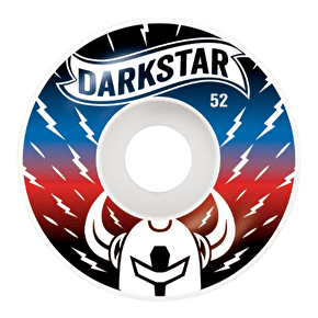 Darkstar Skateboard Wheels - Axis Blue/Red 52mm