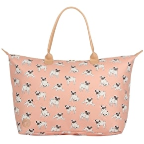 Mi-Pac Pugs Weekender Kit Bag - Peach