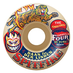 Spitfire x Anti Hero F4 Daan Sideshow Skateboard Wheels