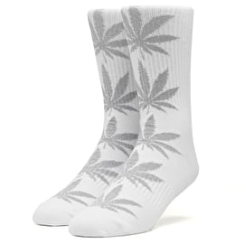 Huf Plantlife Tinsel Socks - White