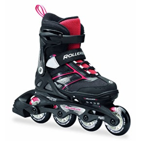 Rollerblade Kids Adjustable Inline Skates - Spitfire Black/Red