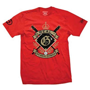 Gold Real G's T-Shirt - Red