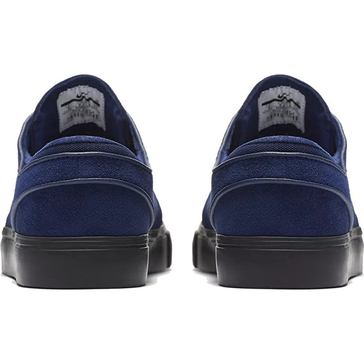 Nike SB Zoom Stefan Janoski Skate Shoes - Blue Void/Blue Void/Black