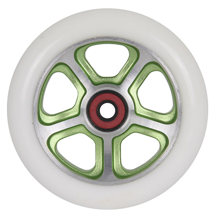 "MGP CF ""Filth"" Scooter Wheel - Green/White 110mm"