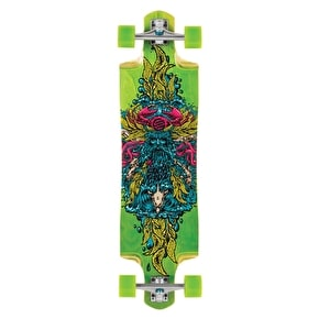 Santa Cruz Sea God Cruz Control Complete Longboard - Green - 38