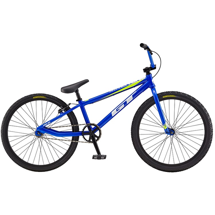"GT 24"" Mach One Pro 2019 Complete BMX Bike - Blue"