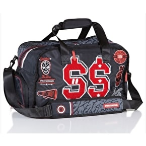 Sprayground Varsity Money Duffle Bag