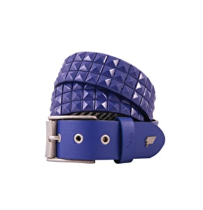LowLife Triple S Studded Belt - Royal Blue