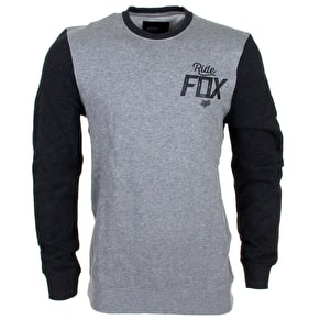 Fox Knockout Crew Fleece - Black