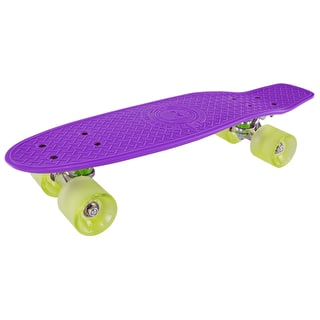 Madd Gear Pro Skins Retro Cruiser - Purple/Lime