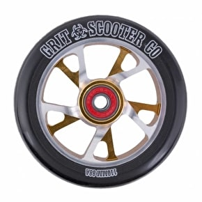 Grit Scooter Wheel - Bio Core 110mm Black/Gold/Silver