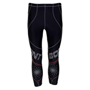 Bont Skates Hi-Performance Compression 3/4 Leggings - Black