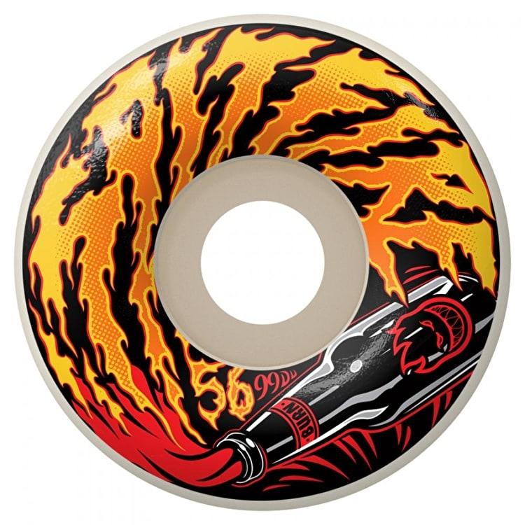 Spitfire Molotov Skateboard Wheels - 56mm 99a (Pack of 4)