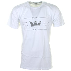Supra International T-Shirt - White