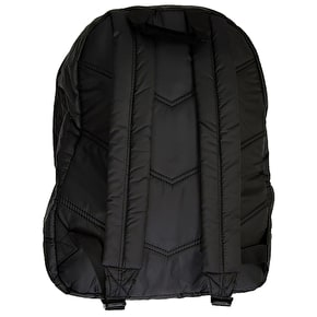 Hype Quilted Backpack- Black