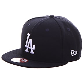 New Era MLB Snapback Cap - LA Dodgers - Navy