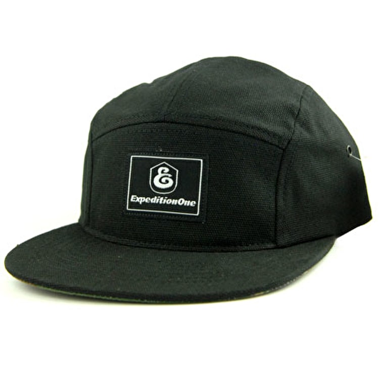 Expedition One Doubledown Camper Cap - Black