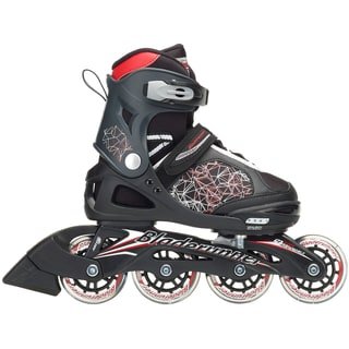 Bladerunner 2018 Phaser Combo Adjustable Inline Skates - Black/Red