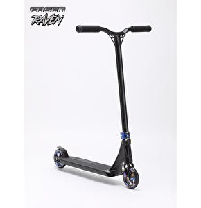 Fasen Raven Complete Scooter - Black/Oil Slick