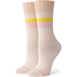 Stance Breaktime - Womens Socks - Cream