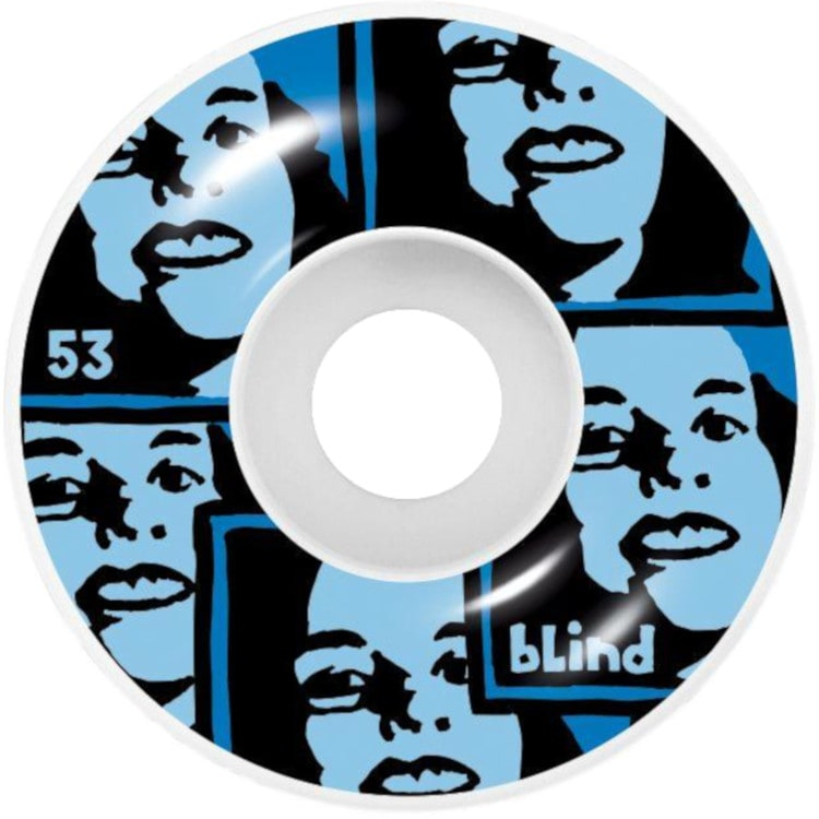 Blind Girl Skateboard Wheels 53mm - Blue