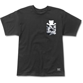 Grizzly Storm Front Pocket T Shirt - Black