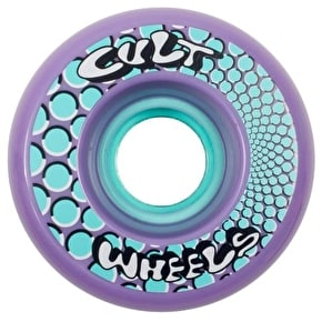 Cult Ism 63mm 85a Longboard Wheels - Purple (Pack of 4)