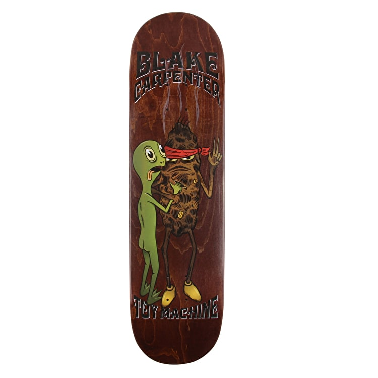 Toy Machine Doubting Turtle Skateboard Deck - Carpenter 8.25""