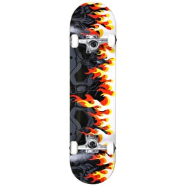 MGP Gangsta Series Complete Skateboard - On Fire 7.75