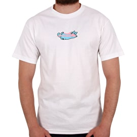 Lakai Leon Lazy Cat T-Shirt - White