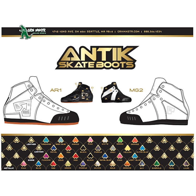 Antik AR1 Spektrum Boot- Full Custom Option