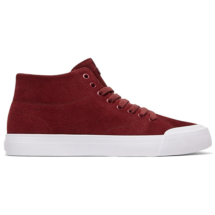 DC Evan Smith Hi Zero High Top Skate Shoes - Maroon