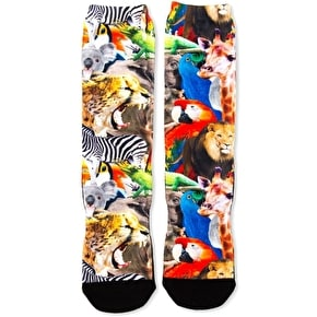 Neff Wildlife Socks
