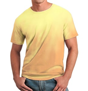 Global Technacolour T-Shirt - Orange into Yellow