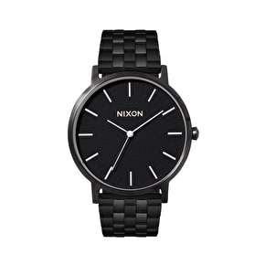 Nixon Porter Watch - All Black/White